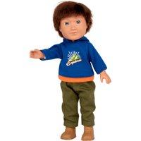 "My Life As 7"" Mini Poseable Outdoorsy Boy Doll, Brunette Hair"