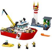 LEGO City Fire Fire Boat 60109