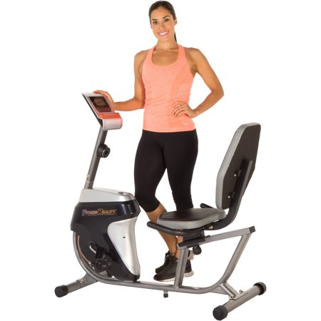 Fitness Reality R4000 Recumbent Exercise Bike with Workout Goal Setting