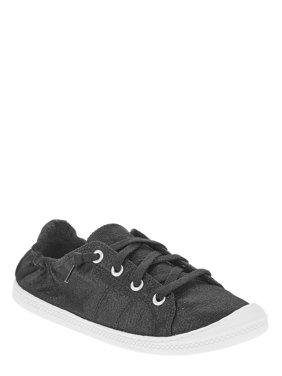 Women's Scrunch Back Canvas Shoe