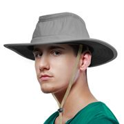 Sun Blocker Outdoor Boonie Sun Protection Hat Mesh Bucket Hat Wide Brim  Camping Hiking Fishing Hunting 23a5b04df82