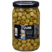 Mario Manzanilla Olives stuffed with minced pimiento 44oz