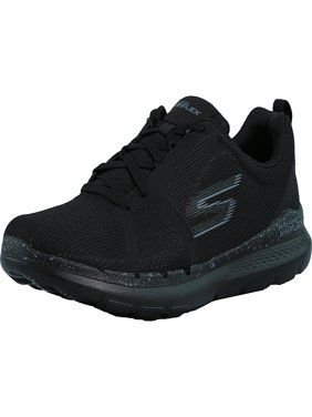 Skechers Women's Go Flex Train Black Ankle-High Tennis Shoe - 11M