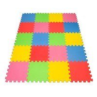 Angels 20 XLarge Foam Mats Toy ideal Gift -Colorfull Tiles Multi Use, Create & Build A Safe PLay Zone Area, Interlocking eva Non-Toxic Floor for Children Toddler Infant Kids Baby Room & Yard Superyard