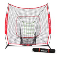 Rukket 7x7 Sock It! Baseball and Softball Practice Net with Adjustable Target