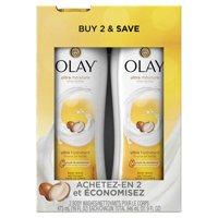 Twin pack, Olay Ultra Moisture Shea Butter Body Wash, 2x16 oz