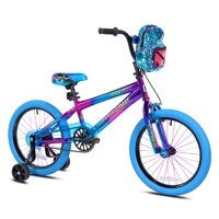 "Genesis 18"" Girls', Illusion Bicycle, Blue/Purple, For Ages 6-9"