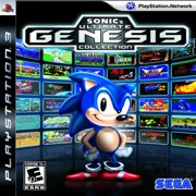 Sonic's Ultimate Genesis Collection, SEGA, Playstation 3, 00000100866902