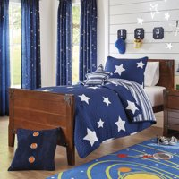 Better Homes and Gardens Kids Navy Stars Bedding Quilt Set