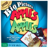 Apples to Apples Big Picture Game for 4-8 Players Ages 7Y+