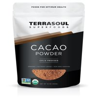(2 Pack) Terrasoul Superfoods Organic Raw Cacao Powder, 4.0 Oz