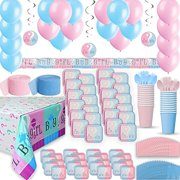 Gender Reveal Party Supplies For 24