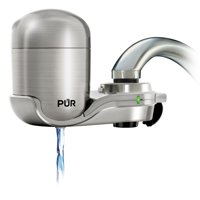 PUR Advanced Faucet Water Filter, Stainless Steel Finish, FM4000B