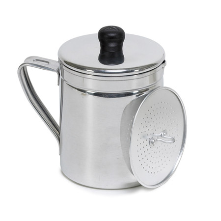 Mainstays Aluminum 1.5 Quart Silver Grease Dispenser