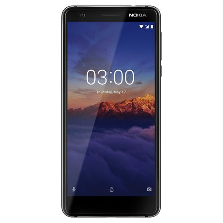 NOKIA 3.1 16GB Unlocked Smartphone, BLACK