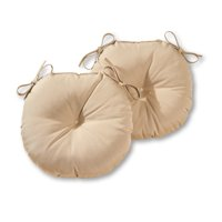 Greendale Home Fashions 15'' Outdoor Bistro Chair Cushion, Set of 2