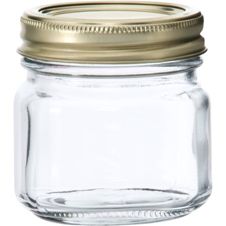 Anchor Hocking Half-Pint Glass Canning Jar Set, 12pk](Buy Mason Jars In Bulk)