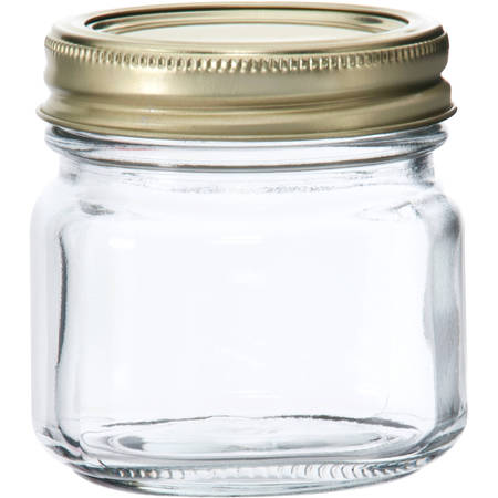 Anchor Hocking Half-Pint Glass Canning Jar Set, 12pk (16 Oz Pint)