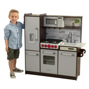 KidKraft Uptown Elite Espresso Play Kitchen with EZ Kraft Assembly