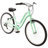 """Huffy 27.5"""" Parkside Womens 7-Speed Comfort Bike with Perfect Fit Frame, Mint"""