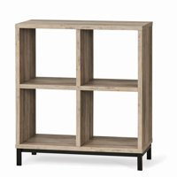 Better Homes and Gardens Square 4-Cube Storage Organizer with Metal Base, Multiple Finishes