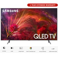 "Samsung QN65Q8FNB 65"" Q8FN Smart 4K Ultra HD QLED TV 2018 (QN65Q8FNBFXZA) with 1 Year Extended Warranty"