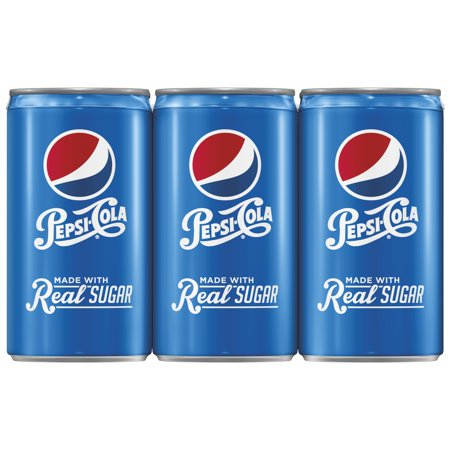 Pepsi with Real Sugar Soda, 7.5 Fl. Oz., 6 - Pepsi Racing