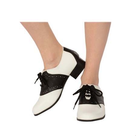 Adult Women's Saddle Shoe Halloween Costume Accessory - Easy Woman Costume Halloween