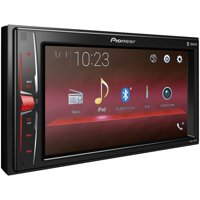 """Pioneer MVH-200EX 6.2"""" Double-DIN In-Dash Digital Media & A/V Receiver with Bluetooth"""