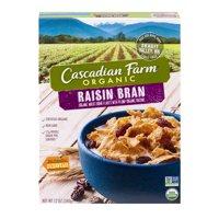 (2 Pack) Cascadian Farm® Organic Raisin Bran Cereal 12 oz Box, 12.0 OZ