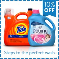 Buy and Save: Tide Laundry Detergent and Downy Fabric Conditioner