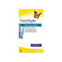 FreeStyle Precision Neo Blood Glucose Test Strips - 25 CT