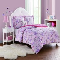 Paris Girl 4pc Comforter Set