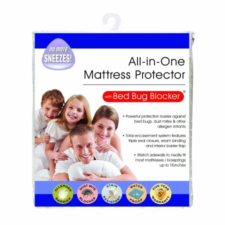 Original Bed Bug Blocker Zippered Mattress Cover (Best Epic Mattress Protector Twin Sizes)