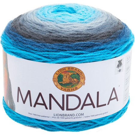 Lion Brand Yarns Mandala Acrylic Spirit Yarn, 1 Each ()
