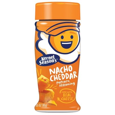 (2 Pack) Kernel Season's Nacho Cheddar Popcorn Seasoning - Popcorn Mix For Halloween