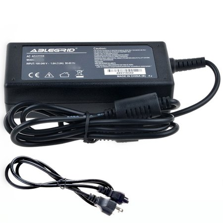 ABLEGRID AC / DC Adapter For Acer Aspire One Cloudbook 14 14 AO1-431 AO1-431-C7F9 NX.SHGAA.003, AO1-431-C8G8, AO1-431-C1FZ NX.SHGAA.002 Laptop PC Power Supply Cord (002 Power Supply)