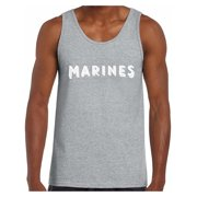 1da34b164e8b03 Awkward Styles Marines Tank Top for Men Military Sleeveless Shirt Men s  Marines Tank Workout Clothes Marines