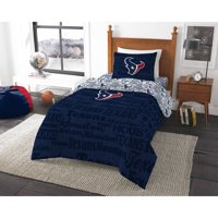 NFL Houston Texans Bed in a Bag Complete Bedding Set
