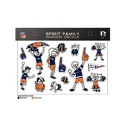 a5991cf9973 Denver Broncos Official NFL Small Family Decal Set by Rico Industries