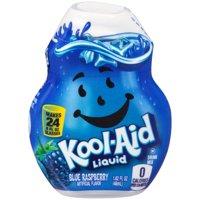 (12 Pack) Kool-Aid Blue Raspberry Liquid Drink Mix, 1.62 fl oz Bottle