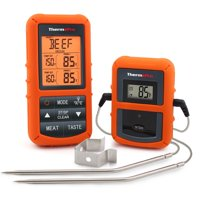 ThermoPro TP20 Wireless Remote Cooking Food Meat Thermometer with Dual Probe for Smoker Grill BBQ Thermometer