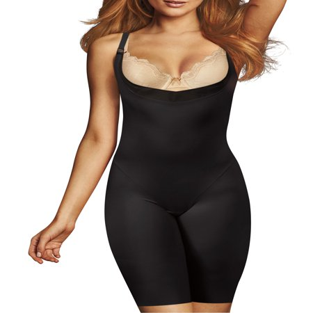 Flexees Cool Comfort Ultra Firm Romper (Best Spanx For Plus Size)
