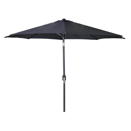 Jordan Manufacturing 9' Steel Market Umbrella, Multiple Colors