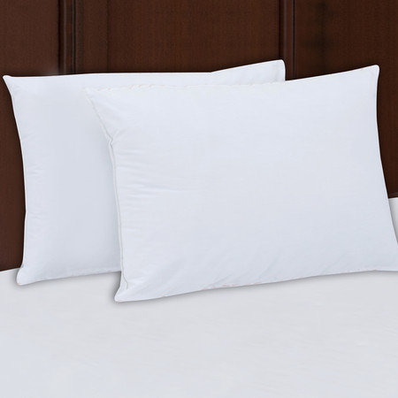 Mainstays 200TC Cotton Medium Support Pillow Set of 2, Multiple