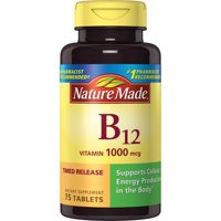 Nature Made Vitamin B-12 1000 mcg. Timed Release