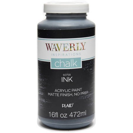 Waverly Inspirations Matte Chalk Finish Acrylic Paint, 1 Each, 16 Fl. Oz.