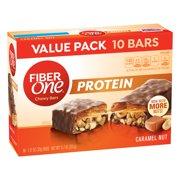 Fiber One Protein Bar Caramel Nut Chewy Bars 10 Fiber Bars 11.7 oz