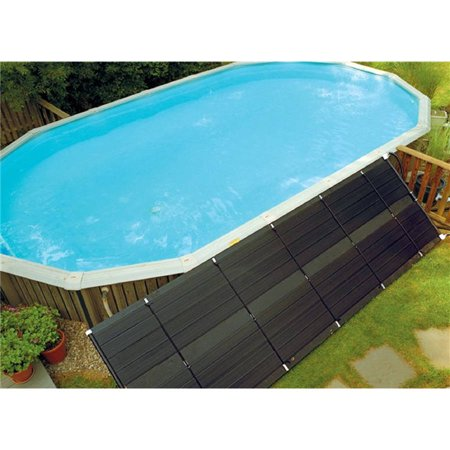 SunHeater Universal 2' x 20' Solar Heating Panel for In Ground or Above Ground Pool 40 Sq Ft Above Ground Solar Pool Heaters