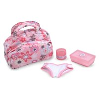 Melissa & Doug Mine To Love Diaper Changing Set One Size Pink multi
